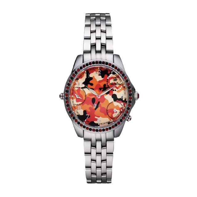 (アライブアスレティックス) ALIVE ATHLETICS 3TIMER CAMO (WATCH)(COLOR:SILVER RED CAMO) ウオッチ 時計 国内正規品