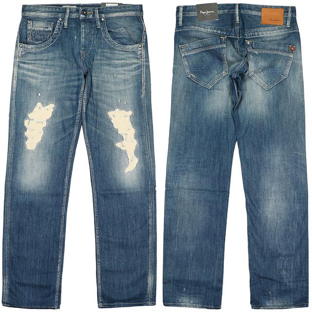 (ペペジーンズロンドン) PEPE JEANS LONDON TOOTING (LS:PANTS)(PM200042A35-000) ボトムス ロングパンツ ジーンズ デニム 国内正規品