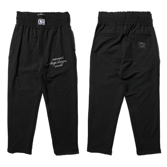 (リバーサル) REVERSAL rvddw BAGGY PANTS (LS:PANTS)(rv18ss041-BK) ボトムス ロングパンツ バギーパンツ 国内正規品
