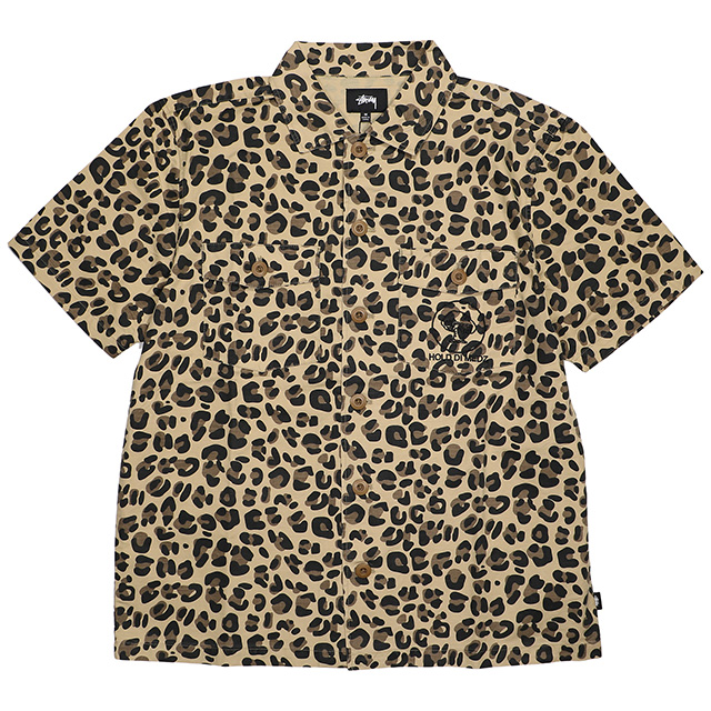 (ステューシー) STUSSY BDU SHIRT (SS:SHIRT)(111990-LE) シャツ 半袖 国内正規品