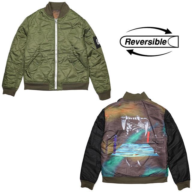 (リバーサル) REVERSAL FANGS JACKT (JACKET)(rv18aw003-BK×OL) ジャケット リバーシブルジャケット ナイロン 国内正規品