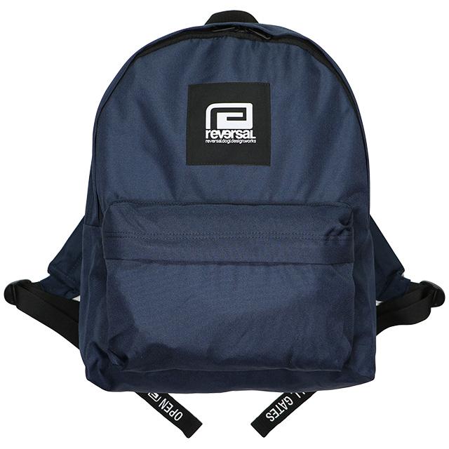 (リバーサル) REVERSAL BOX LOGO BACK PACK (BAG)(rv19ss046-NV) バッグ 鞄 リュック デイパック 国内正規品