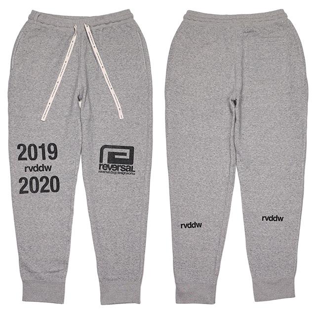 (リバーサル) REVERSAL 2019-2020 SWEAT PANTS (LS:PANTS)(rv19ss030-GR) ボトムス ロングパンツ スウェット セットアップ 国内正規品