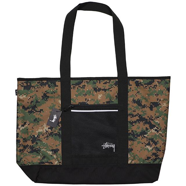 (ステューシー) STUSSY DIGI CAMO TOTE BAG (BAG)(134202:CA) バッグ 鞄 リュック トート 国内正規品