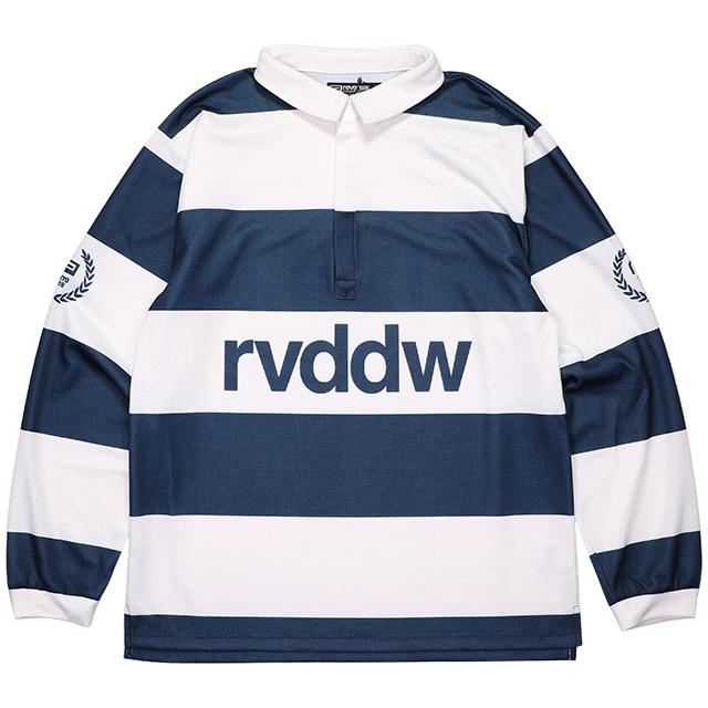 (リバーサル) REVERSAL DRY RUGGER SHIRTS (LS:TEE)(rv19ss023-NV) Tシャツ 長袖 ラガーシャツ 国内正規品