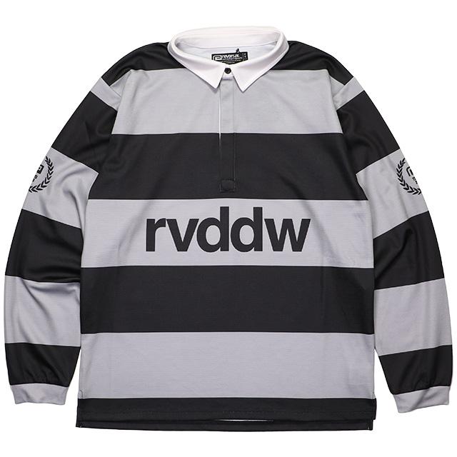 (リバーサル) REVERSAL DRY RUGGER SHIRTS (LS:TEE)(rv19ss023-BK) Tシャツ 長袖 ラガーシャツ 国内正規品