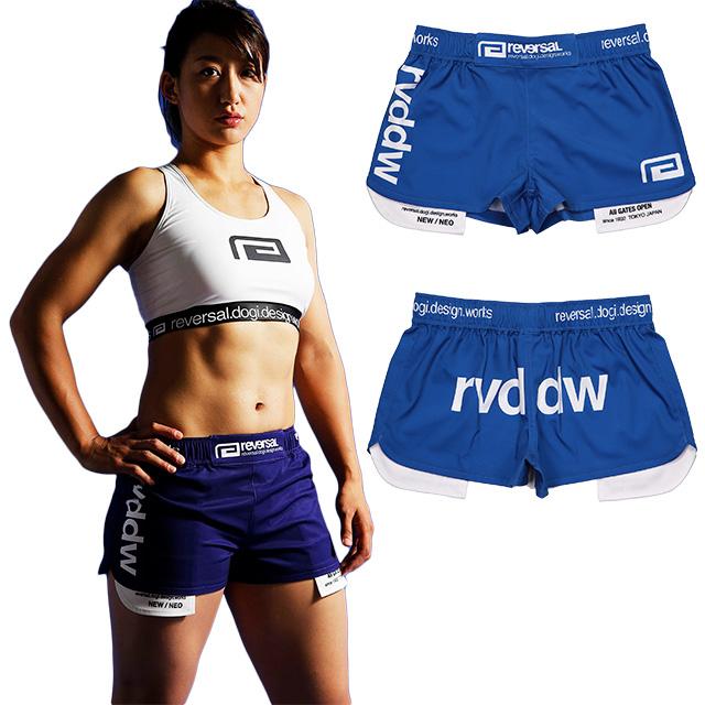 (リバーサル) REVERSAL LADYS WFP ACTIVE SHORTS (SS:PANTS)(rv19ss034LD-BL) ボトムス ショートパンツ ファイトショーツ レディース 国内正規品