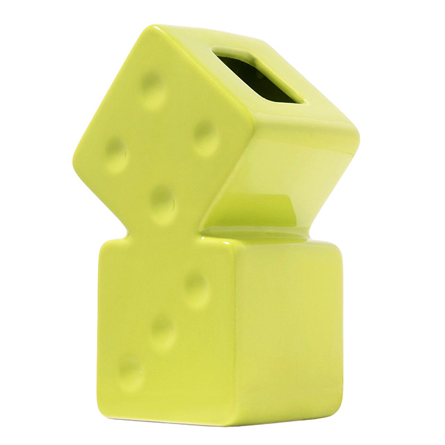 (ステューシー) STUSSY DICE CERAMIC VASE (FLOWER BASE)(138703-LI) 生活小物 花瓶 フラワーベース 国内正規品