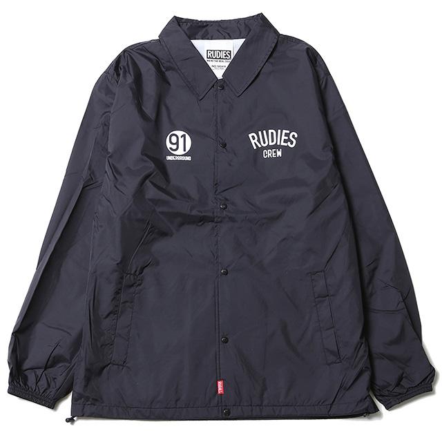 (ルーディーズ) RUDIE'S PHAT COACH JACKET (JACKET)(85038-BK) ジャケット コーチジャケット ナイロン 国内正規品