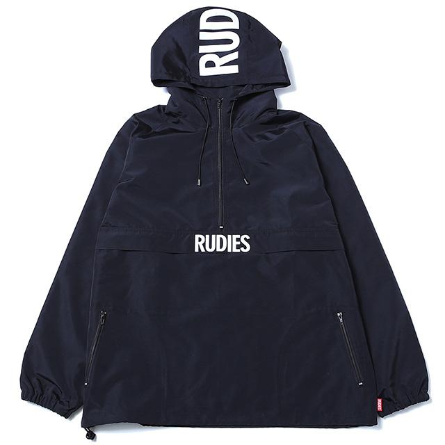 (ルーディーズ) RUDIE'S PHAT ANORAK (JACKET)(85024-BK) ジャケット アノラック ナイロン 国内正規品