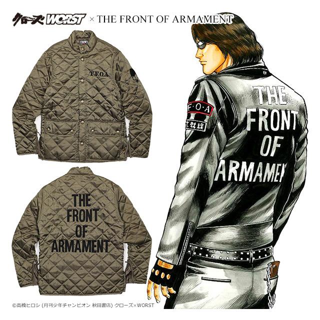(クローズ ワースト) CROWS×WORST 5th T.F.O.Aキルティングジャケット (JACKET)(TFKJ-01OL) ジャケット アウター 国内正規品