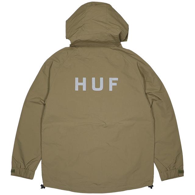 (ハフ) HUF STANDARD 2 SHELL JACKET (JACKET)(JK00186-OL) ジャケット シェルジャケット ナイロン 国内正規品