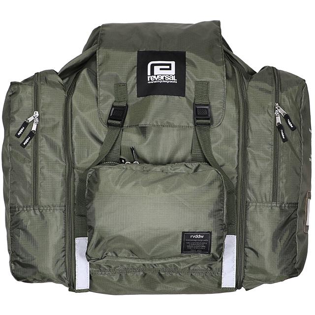 (リバーサル) REVERSAL rvddw SUMMER SCHOOL RUCKSACK (BAG)(rv20ss707-OL) バッグ 鞄 リュック デイパック 国内正規品