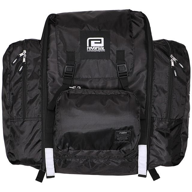 (リバーサル) REVERSAL rvddw SUMMER SCHOOL RUCKSACK (BAG)(rv20ss707-BK) バッグ 鞄 リュック デイパック 国内正規品