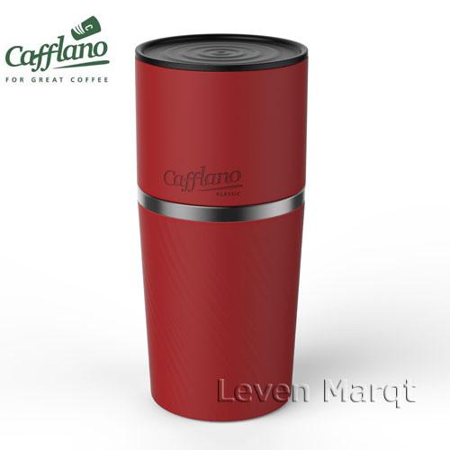 オールインワンコーヒーメーカー レッド Cafflano Klassic カフラーノクラシック 【コーヒーメーカー/豆挽き/タンブラー】