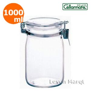 優れた密閉性で 調味料から果実酒作りまで幅広くお使いいただけます ガラス密閉びん1.0L セラーメイト 果実酒 瓶 保存容器 今ダケ送料無料 別倉庫からの配送