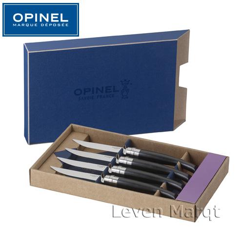 【送料無料】テーブルナイフ エボニー Ebony 4本セット オピネル OPINEL【テーブルナイフ/カトラリー/業務用】