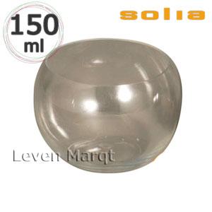ソリア solia スフェア クリア 150ml 100個入り【ケータリング/プラスチック容器/使い捨て食器】