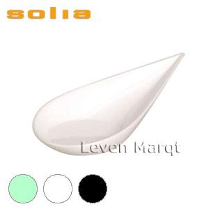 ソリア solia 雫型スプーン 200個入り(選べる3色)【ケータリング/プラスチック容器/使い捨て食器】