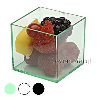 ソリア solia ミニキューブ 200個入り(選べる3色)【ケータリング/プラスチック容器/使い捨て食器】