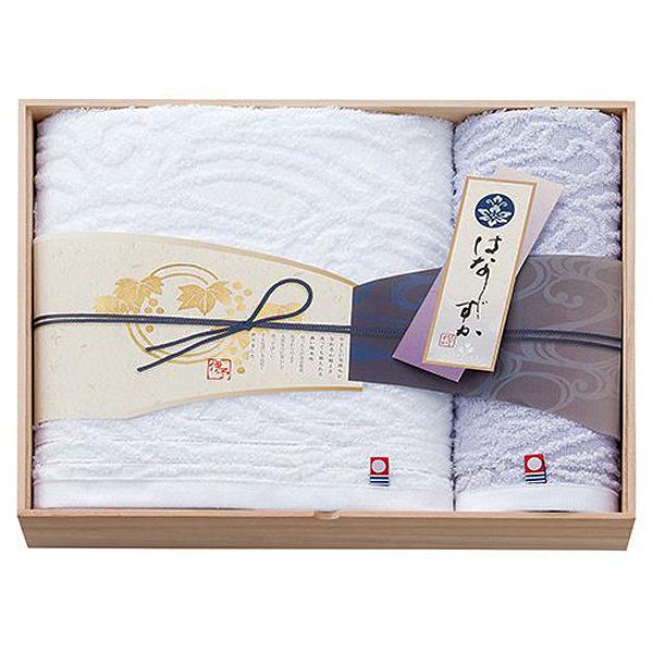 木箱入り今治タオル 今治タオル認定商品 はなしずか 木箱入りタオルセット2Pバスタオル ウォッシュタオルHSK1735内祝 即納送料無料 香典返し 高い素材 お祝 お返し 記念品 プレゼント