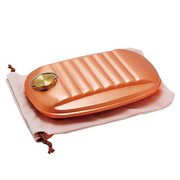 新光堂 純銅製湯たんぽ袋付 S-9395S 【贈り物 御祝 プレゼント 内祝 快気祝 お返し 香典返し 法事 通販 ギフト】