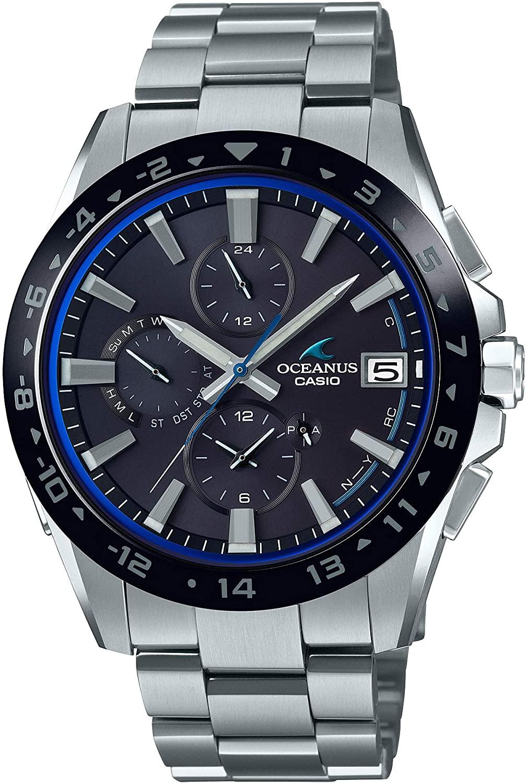 メンズ 腕時計 新品 正規品 CASIO カシオ OCEANUS CLASSIC オシアナス 予約販売品 LINE 電波ソーラー OCW-T3000A-1AJF 贈り物 Bluetooth 搭載
