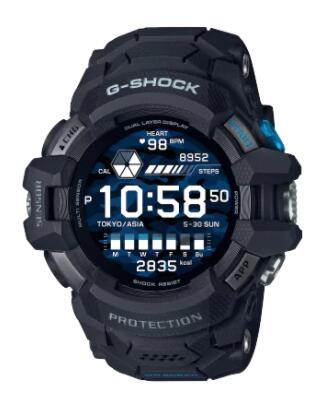 メンズ スマートウォッチ 人気急上昇 腕時計 新品 正規品 新作入荷!! CASIO G-SQUAD G-SHOCK GSW-H1000-1JR ジーショック カシオ PRO