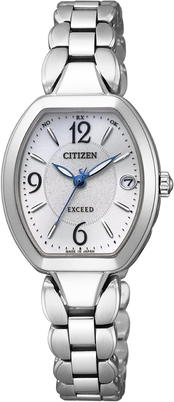 倉 レディース 腕時計 新品 『1年保証』 正規品 CITIZEN シチズン エクシード ES8060-57A EXCEED チタン 電波