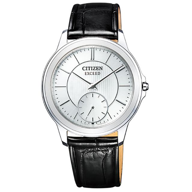 CITIZEN シチズン エクシード EXCEED 40周年記念モデル 革バンド ソーラー エコドライブ AQ5000-13A メンズ 腕時計
