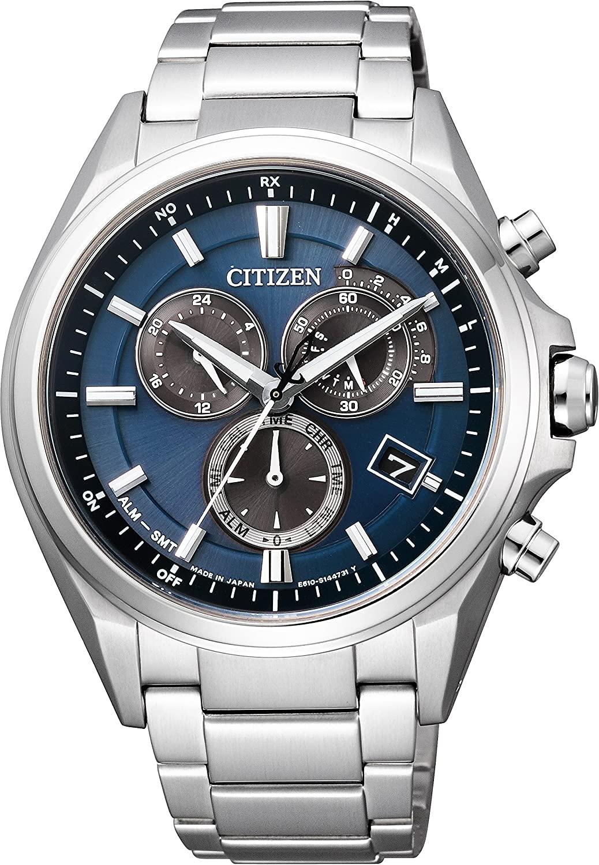 メンズ 腕時計 予約販売品 新品 激安格安割引情報満載 正規品 CITIZEN シチズン ATESSA アテッサ Eco-Drive エコ ドライブ クロノグラフ AT3050-51L 電波時計