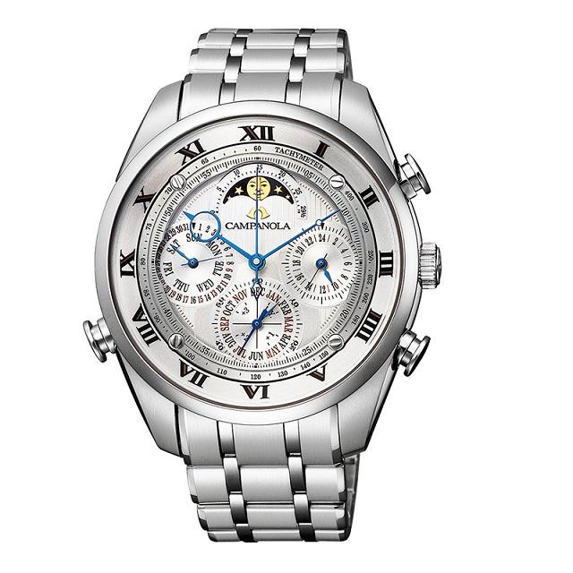 【送料無料】【100回迄無金利対応】新品 正規品 シチズン カンパノラ 腕時計 グランドコンプリケーション AH4080-52A