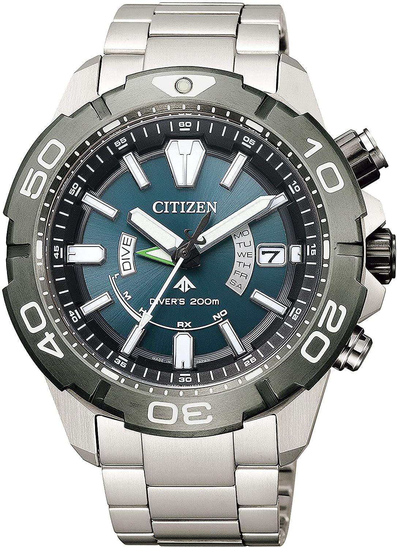 メンズ 腕時計 再入荷/予約販売! 新品 正規品 CITIZEN シチズン PROMASTER プロマスター ダイバー200M エコ MARINEシリーズ 2019年度グッドデザイン賞受賞 AS7145-69L ドライブ電波時計 日本産