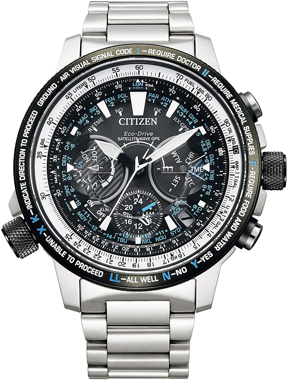 メンズ ご注文で当日配送 お気にいる 腕時計 新品 正規品 CITIZEN シチズン PROMASTER エコドライブGPS衛星電波時計 プロマスター 限定モデル 限定500本 CC7015-63E ブルーインパルス