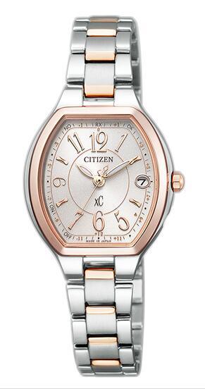 レディース 腕時計 新品 正規品 CITIZEN シチズン 完全送料無料 XC エコ クロスシー ブランド激安セール会場 ドライブ ハッピーフライト 電波時計 ES9364-57A