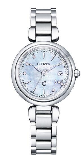 レディース 信託 腕時計 新品 正規品 CITIZEN シチズン XC クロスシー ES9461-51W 日本メーカー新品 限定モデル 世界限定1 collection 600本 mizu