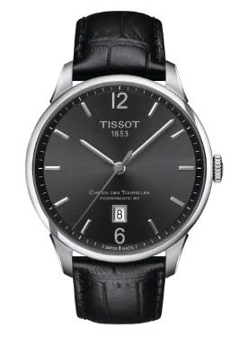 メンズ 送料無料でお届けします 腕時計 新品 未使用 正規品 TISSOT ティソ オートマティック シュマン トゥレル デ T099.407.16.447.00