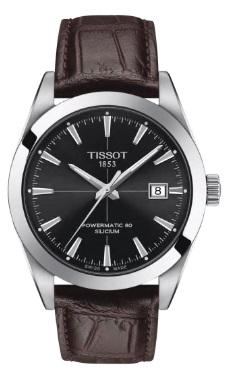 メンズ 腕時計 新品 正規品 TISSOT ティソ Gentleman Powermatic シリシウム 商店 T127.407.16.051.01 パワーマティック 与え ジェントルマン 80 オートマティック Silicium