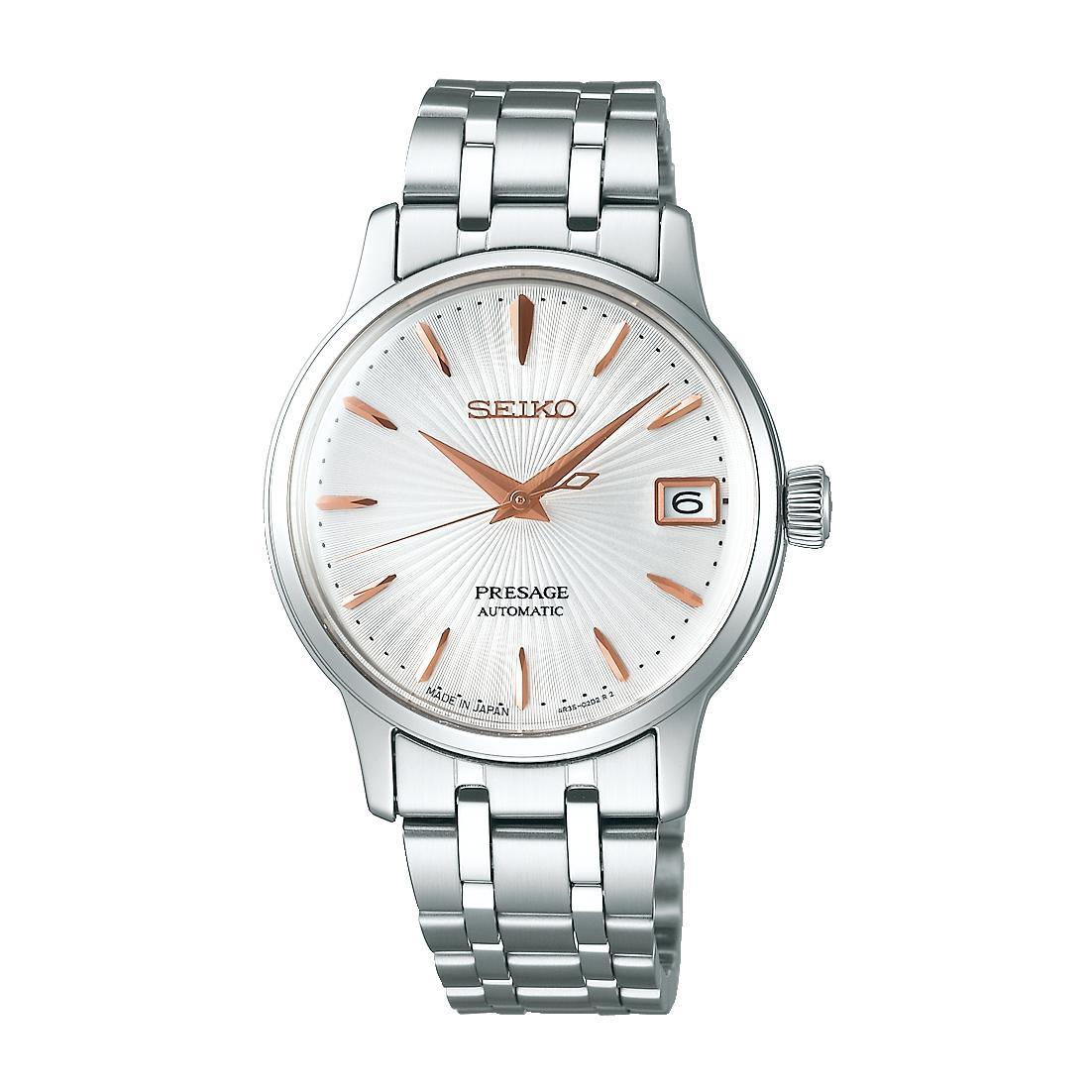 レディース 腕時計 送料無料 お得セット 新品 正規品 SEIKO 返品交換不可 プレザージュ セイコー 機械式 SRRY025 PRESAGE