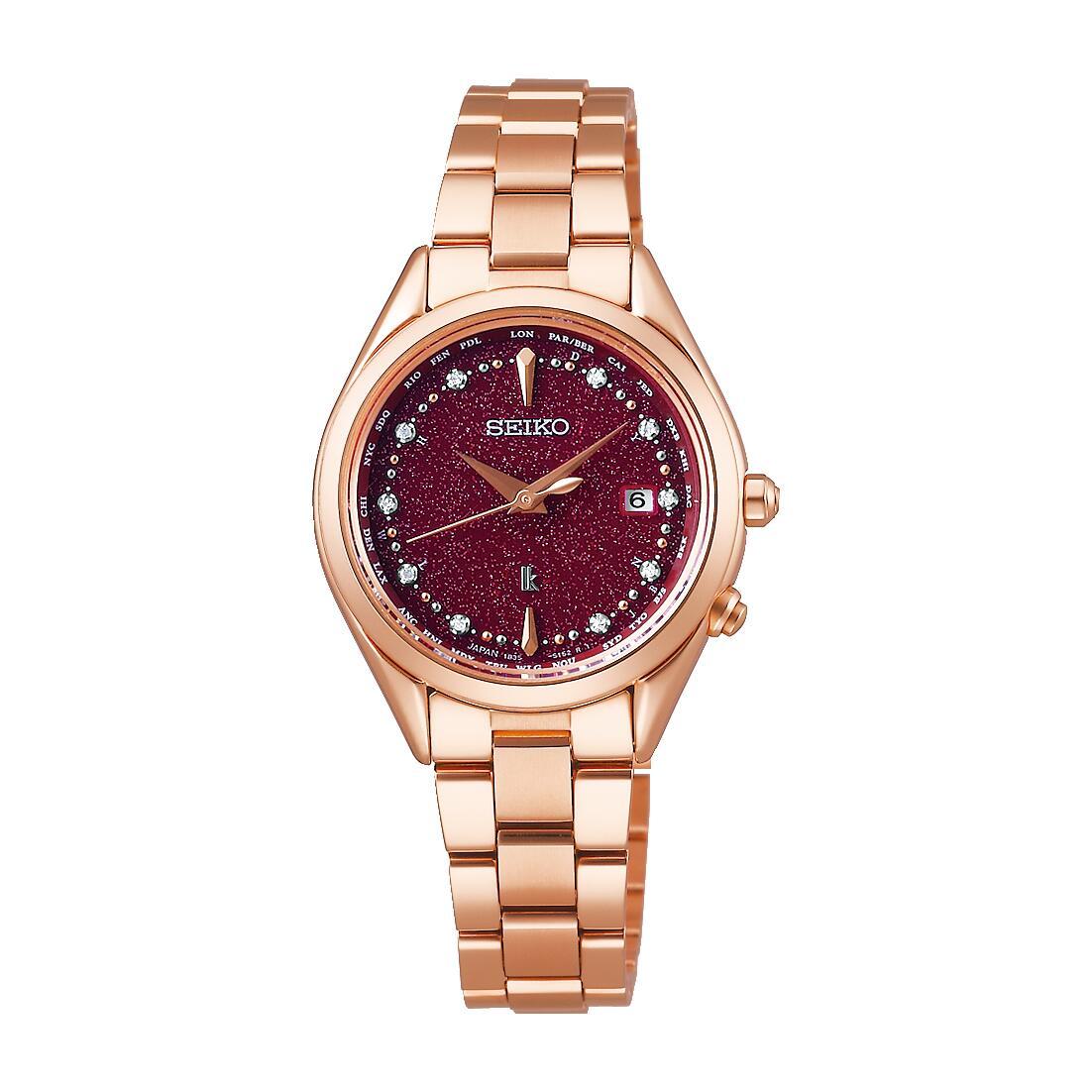 レディース 腕時計 定番キャンバス 新品 正規品 SEIKO セイコー SSQV080 ☆正規品新品未使用品 Jewel限定モデル LUKIA ルキア ソーラー電波 限定500本