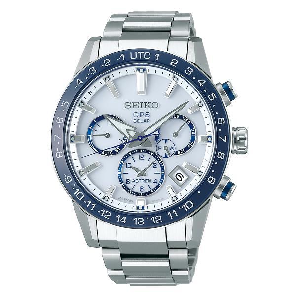 【送料無料】新品 正規品 SEIKO セイコー アストロン ASTRON 腕時計 アストロン 第3世代 GPSソーラー 白文字盤 ワールドタイム機能 サファイアガラス ダイヤシールド SBXC013