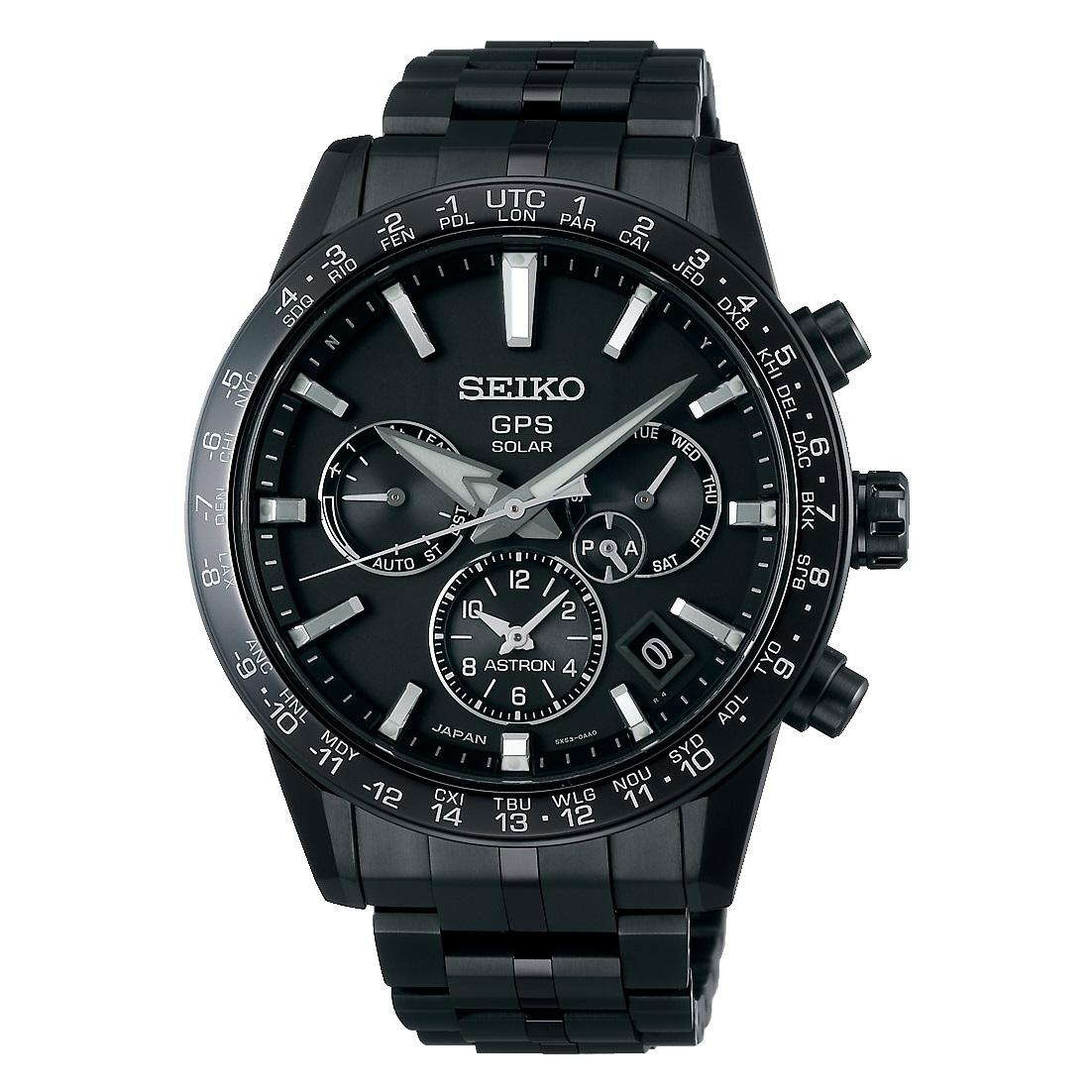 爆安プライス メンズ 腕時計 新品 正規品 SEIKO チープ セイコー SBXC037 チタンモデル ブラック アストロン ASTRON
