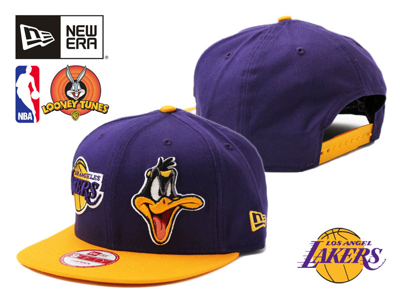 NEW ERA new era snap back Cap new era cap newera 9fifty Looney Tunes in  collaboration with NBA LOS ANGELES LAKERS Los Angeles Lakers Cap large size  hats men ... 1e384c3c973