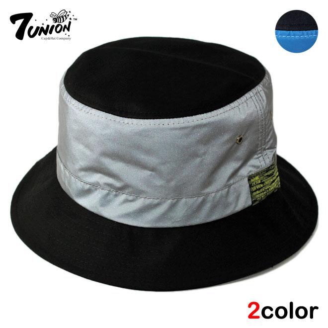 8a792049072 Liberalization  7 UNION seven Union bucket Hat Cap Hat reflector size large  size hats men women