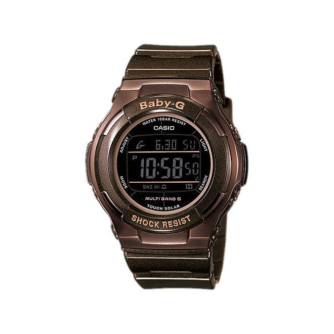 【女性用】 カシオ ベビーG 腕時計 ベビージー ベイビージー レディース CASIO BABY-G 電波 ソーラー 防水 [ 国内正規品 ] [ bn ]