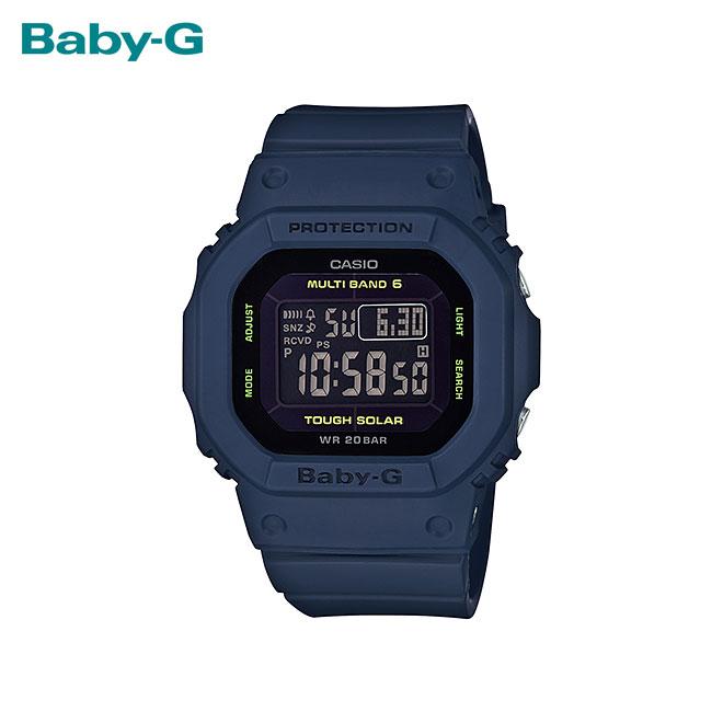 【女性用】 カシオ ベビーG 腕時計 ベビージー ベイビージー レディース CASIO BABY-G 電波 ソーラー 防水 [ 国内正規品 ] [ nv ]
