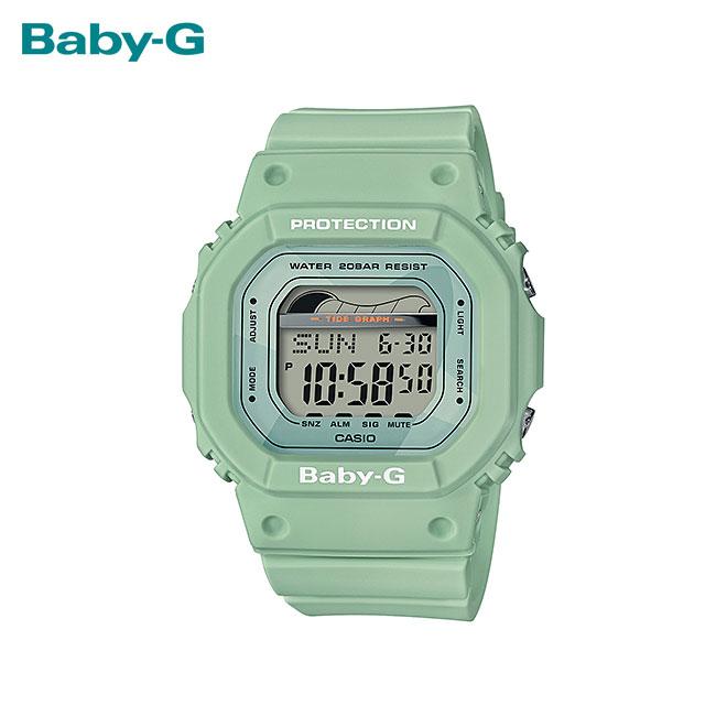 【女性用】 カシオ ベビーG 腕時計 ベビージー ベイビージー レディース CASIO BABY-G 防水 [ 国内正規品 ] [ gn ]