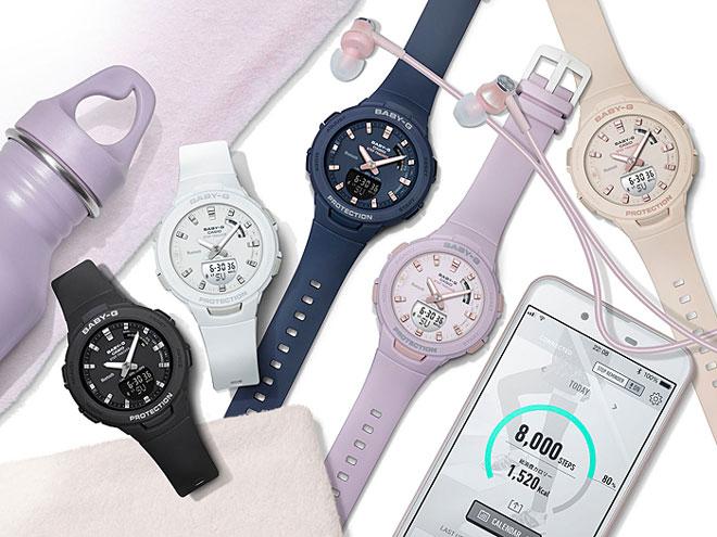 【女性用】 カシオ ベビーG 腕時計 ベビージー ベイビージー レディース CASIO BABY-G 防水 [ 国内正規品 ] [ bk ]