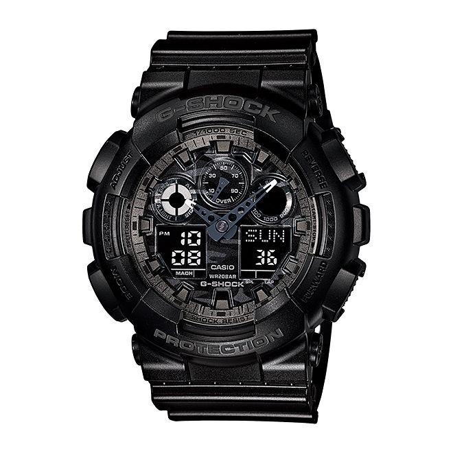 カシオ Gショック 腕時計 ジーショック メンズ レディース CASIO G-SHOCK 迷彩 防水 [ 国内正規品 ] [ bk ptn ]