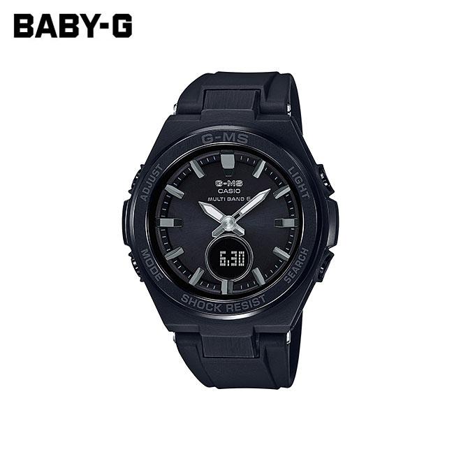 【女性用】 カシオ ベビーG 腕時計 ベビージー ベイビージー レディース CASIO BABY-G 電波 ソーラー 防水 [ 国内正規品 ] [ bk ]